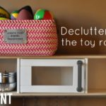 Decluttering the Toy Room