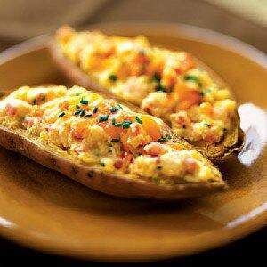 Twice Baked Sweet Potatoes Health.com