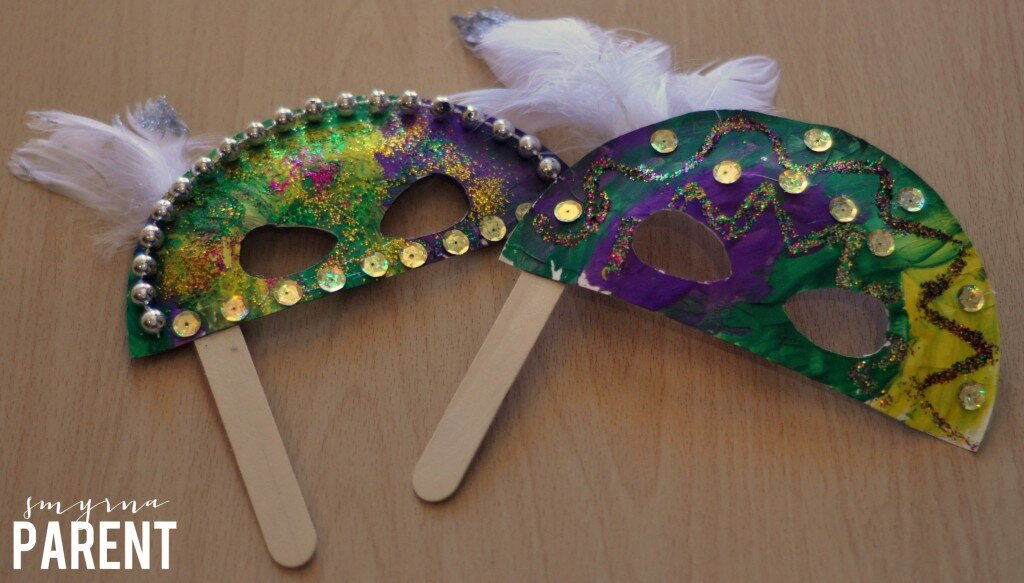 Mardi Gras Masks Finished