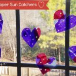 Valentine's Day Sun Catcher Craft