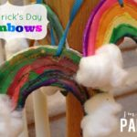 {Craft} St. Patrick's Day Rainbows