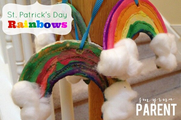 St. Patrick's Day Rainbows