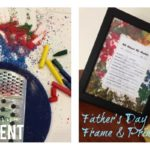 "Father's Day Picture Frame & ""About My Dad"" Free Printable"