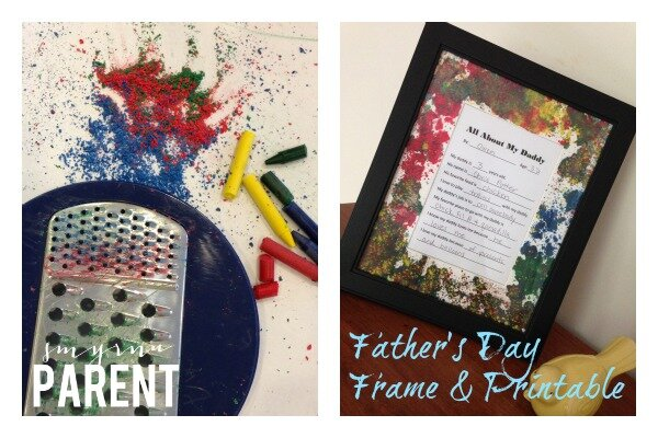 Father's Day Frame and Printable