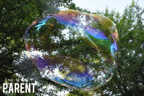Huge Bubble
