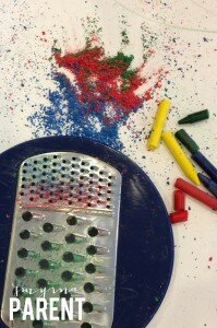 Shaved Crayons
