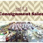 Fall Consignment Sales