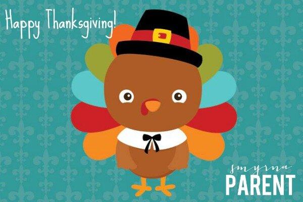 Happy Thanksgiving Horizontal