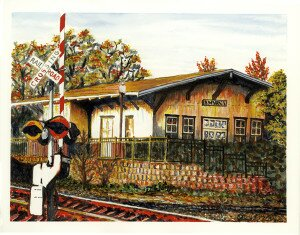 Sue Pezely, Smyrna Railroad Station